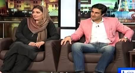 Mazaaq Raat (Arifa Khalid & Kamran Jillani) – 1st April 2015