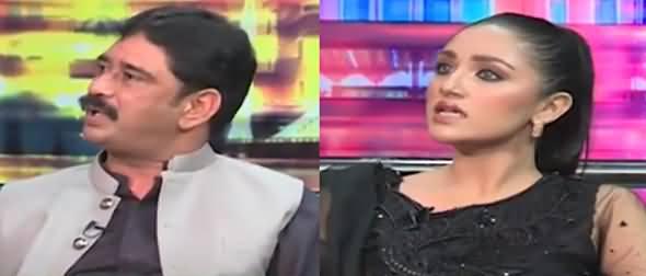 Mazaaq Raat (Azhar Qayyum Nahra & Model Mahnoor Pervaiz) - 14th September 2021
