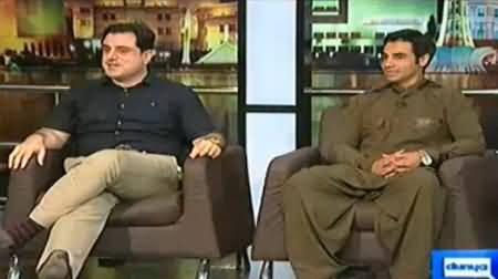 Mazaaq Raat (Bilal Yaseen & Salman Butt) – 24th August 2014