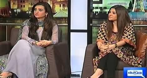 Mazaaq Raat (Bushra Butt & Ayesha Omar) – 29th October 2014