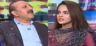 Mazaaq Raat (Chaudhry Shehbaz Babar & Komal Meer) - 2nd March 2020