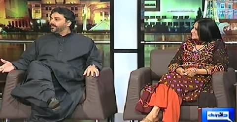 Mazaaq Raat (Dost Mohammad Khosa and Nighat Chaudhry) – 19th November 2014