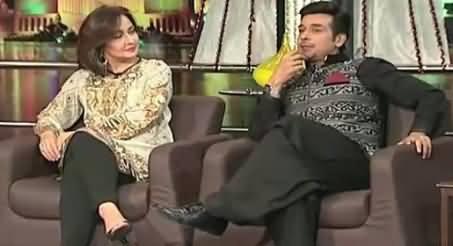Mazaaq Raat (Faisal Qureshi & Zeba Bakhtiar) – 25th September 2015