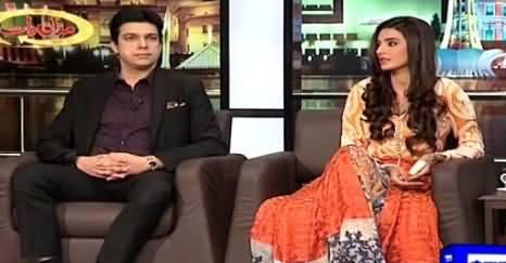Mazaaq Raat (Faisal Wada & Saadia Khan) – 31st March 2015