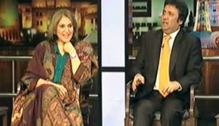 Mazaaq Raat (Fauzia Kasuri PTI , Hanif Raja (Comedian, Actor)) – 29th January 2014