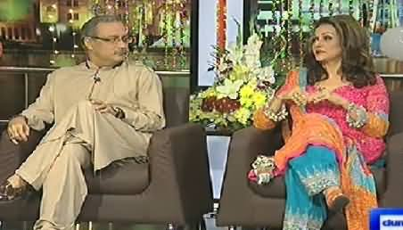 Mazaaq Raat (Haider Abbas Rizwi and Bushra Ansari) – 29th July 2014