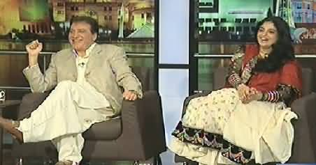 Mazaaq Raat (Javed Sheikh And Nadia Jameel) – 28th July 2014