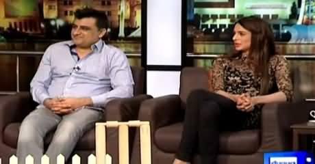 Mazaaq Raat (Jawad Bashir & Hina Bashir) – 16th March 2015