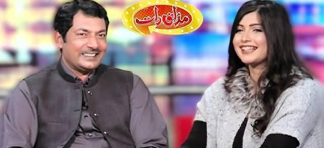 Mazaaq Raat (Malik Ahmad Saeed & Minahil Tariq) - 12th January 2021
