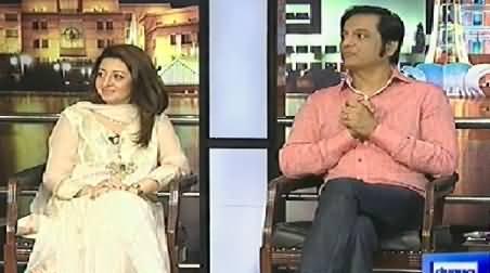 Mazaaq Raat (Mariam Mamdot and Nabeel) - 24th June 2014