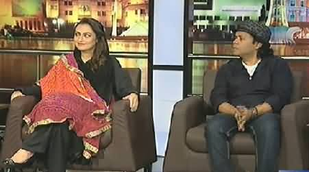 Mazaaq Raat (Marvi Memon & Rafaqat Ali Khan) – 21st July 2014