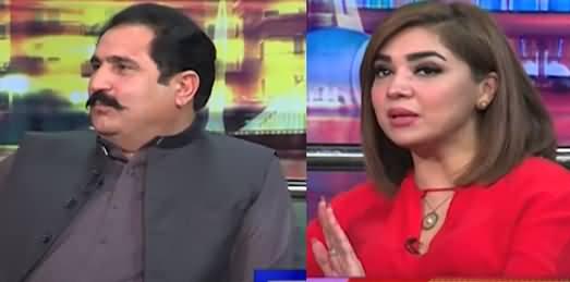 Mazaaq Raat (MNA PPP Sajid Hussain Turi And Actress Natasha Ali) - 25th August 2021