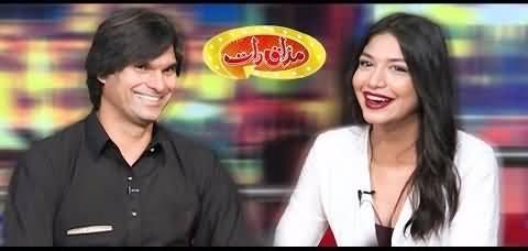 Mazaaq Raat (Mohammad Irfan & Ghania Shokat) - 15th July 2019