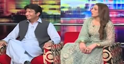 Mazaaq Raat (MPA PTI Ch Muhammad Adnan & Model Sana Kalki) - 28th July 2021