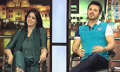 Mazaaq Raat (Nabila Hakim Khan and Ali Haider) – 13th May 2014