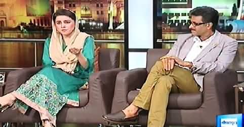 Mazaaq Raat (Naz Balouch and Naveed Alam) - 22nd October 2014