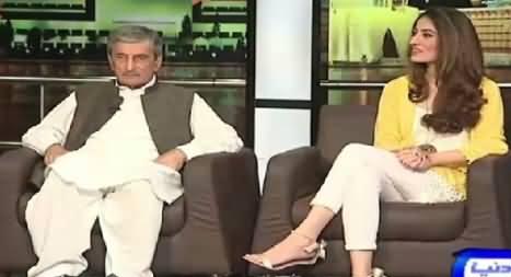 Mazaaq Raat (Ghulam Ahmad Bilour ANP, Anousheh Asad Tv Host) – 10th August 2015