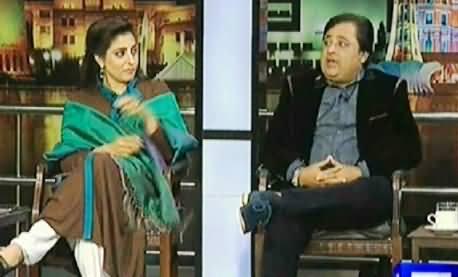 Mazaaq Raat (Palwasha Khan PPP and Rauf Lala) – 17th February 2014