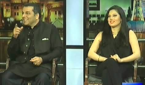 Mazaaq Raat (Murad Rao and Zaria Salahuddin ) – 1st April 2014