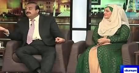 Mazaaq Raat (Zamurd Khan PPP, Urooj Asif Hijab) – 24th August 2015