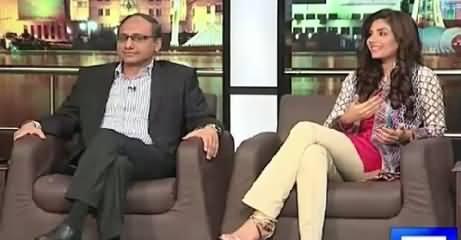 Mazaaq Raat (Saeed Ghani PPP, Sunita Marshall Actress) – 25th August 2015