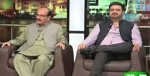 Mazaaq Raat (Senator Kamil Ali Agha, Sahir Ali Bagga Singer) – 5th August 2015