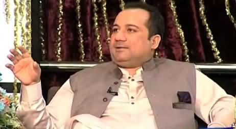 Mazaaq Raat PART-2 (Rahat Fateh Ali Khan Special) – 21st July 2015