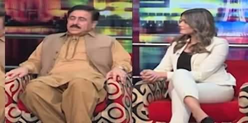 Mazaaq Raat (PML-N MPA Khawaja Muhammad Waseem & Model Aqsa Shah) - 13th July 2021