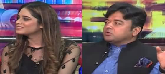 Mazaaq Raat (PML-N MPA Rana Mannan Khan, Rimsha Waheed Kiani) - 24th August 2021