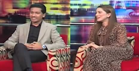 Mazaaq Raat (PTI MPA Ahsan Saleem Baryar And Model Neha Malik) - 6th September 2021