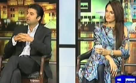 Mazaaq Raat (PTI Murad Saeed and Nadia Khan) – 16th April 2014