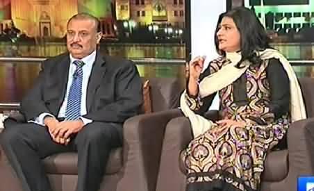 Mazaaq Raat (Raja Riaz & Saba Hameed) – 26th January 2015