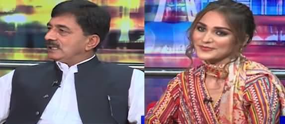 Mazaaq Raat (Rana Muhammad Afzal & Model Rimsha Shaikh) - 15th September 2021