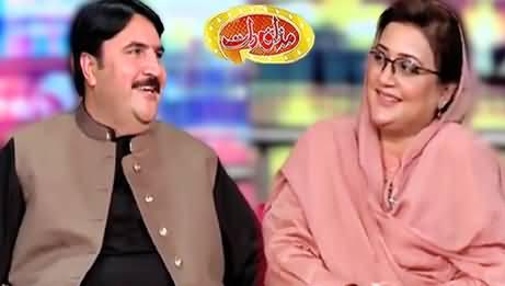 Mazaaq Raat (Rana Shahbaz Ahmad & Uzma Bukhari) - 16th March 2021