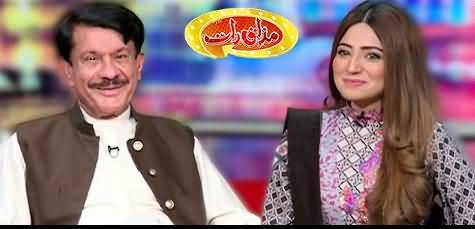 Mazaaq Raat (Saeed Akbar Khan & Maira Mehar) - 2nd June 2021