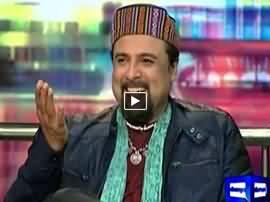 Mazaaq Raat (Salman Ahmad Singer) - 4th January 2016