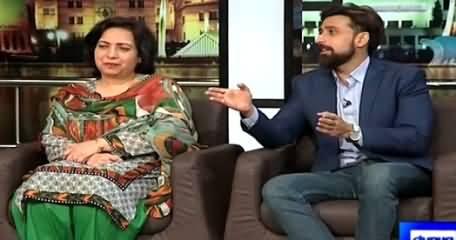 Mazaaq Raat (Sami Khan & Munazza Hassan) – 14th April 2015