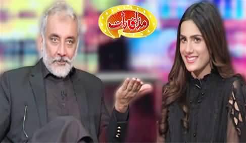 Mazaaq Raat (Sardar Abdul Rehman Khetran & Tayyaba Mehar) - 1st March 2021