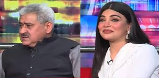 Mazaaq Raat (Sardar Shahab uddin Khan, Actress Maham Javed) - 6th July 2021