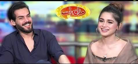 Mazaaq Raat (Shahbaz Shigri & Aima Baig) - 15th January 2020