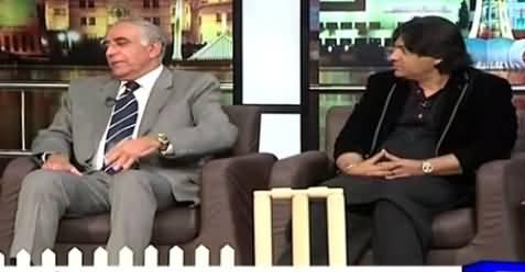 Mazaaq Raat (Tauqeer Zia & Sher Miandad) – 10th March 2015