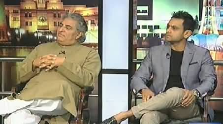 Mazaaq Raat (Usman Pirzada and Muhammad Hafeez) – 30th June 2014
