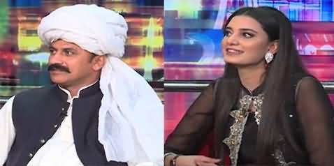 Mazaq Raat (Guests: Mehr Irshad Ahmed Sial And Ayuna Sheikh) - 12th July 2021
