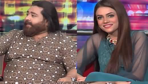 Mazaq Raat (Guests: Musician Nadeem Jafri And Model Iqra Waseem) - 7th July 2021