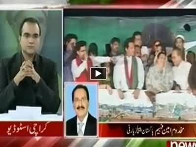 Mazrat Ke Saath (How Govt will End PTI & PAT Dharna) – 11th September 2014