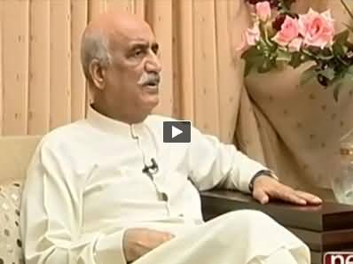 Mazrat Ke Saath (Khursheed Shah Exclusive Interview) – 12th September 2014