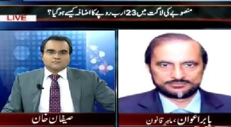 Mazrat Ke Sath (How 23 Billion Rs. Increase in Project Amount) – 12th March 2015