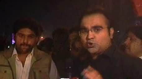 Mazrat Ke Sath (Special Program From PTI Jalsa Faisalabad) – 8th December 2014