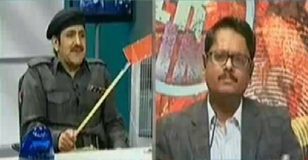 Media Azaad Hai On Express News – 5th February 2015