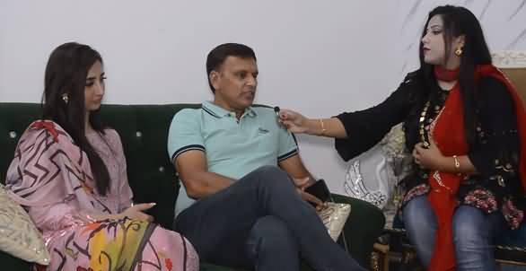 Meet The Father of Tiktokers Jannat Mirza And Alishba